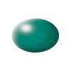 Festék, patinaszürke, selyemmatt, színkód: 365 RAL, színkód: 6000 18 ml, Revell Aqua