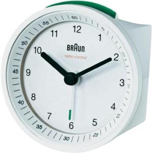 Braun Braun rádiójel vezérlésű ébresztőóra, 80 x 80 x 56 mm, fehér