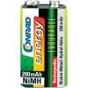 Conrad energy Endurance 9V akku NiMh 200 mAh
