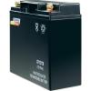 Conrad energy Conrad karbantartás mentes zselés akkumulátor, 12 V 17 Ah