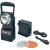 AccuLux ACCULUX 12/24V/230V vízálló, porálló akkus műhelylámpa, autós vészlámpa, kézilámpa egyben