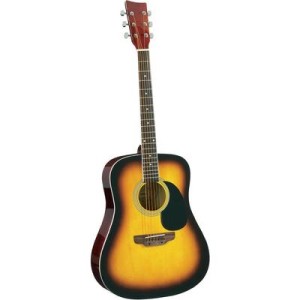 Conrad CW-195E elektroakusztikus gitár, sunburst