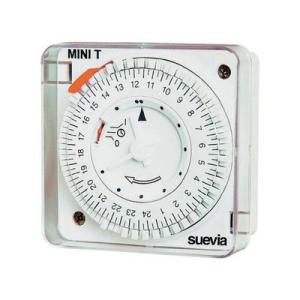 Suevia mechanikus napi időkapcsoló óra, 1 áramkör, 230V/16A, Mini T D QRD