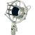 McCrypt Mikrofontartó 43-50 mm, Mc CRYPT SHM-9A