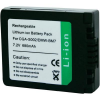 Conrad energy Panasonic kamera akku CGA-S002, DMW-BM7 7,2 V 600 mAh