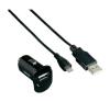 Hama USB-s töltőkészlet PICCO 12V MICRO USB mobiltelefon kellék