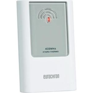 Conrad Tartalék/kiegészítő érzékelő, EAS 301Z Eurochron C8340T 433 MHz, 67 23 95 Rádiójel vezérlésű bel- és kültéri hőmérő, EFWS 300, 67 24 09 Rádiójel vezér