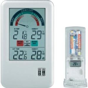 Conrad Rádiójel vezérlésű hőmérséklet- és légnedvesség mérő, BEL-AIR