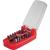 Toolcraft Bit készlet színkódokkal 15 részes, ToolCraft