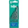 Heller Nemesacél fúrókészlet HSS Kobalt 6 részes