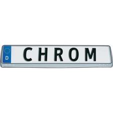 Króm rendszámtábla keret autó dekoráció