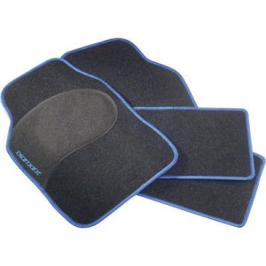 Conrad Autós szőnyeg készlet fekete/kék