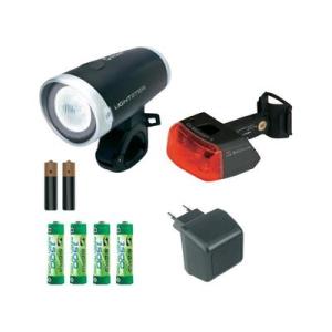 Conrad Kerékpár lámpa készlet, Lightster und Cuberider II