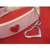 JJ Pets Open Heart szív alakú nyitott medál