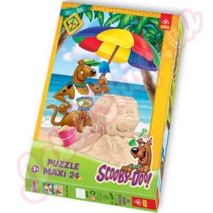 Trefl Scooby Doo a tengerparton Maxi Puzzle