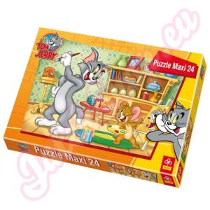 Trefl Maxi Puzzle Tom és Jerry - Tom portréja -