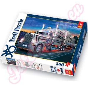 Trefl Ezüst Kamion 500 db-os puzzle