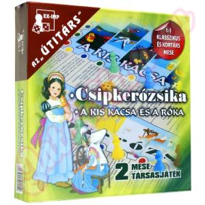 EX-IMP Csipkerózsika - A kis kacsa és a róka mesés társasjáték