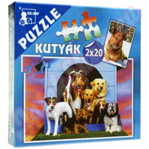 EX-IMP Kutyák puzzle