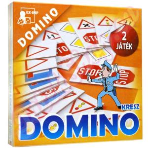 EX-IMP Kresz dominójáték