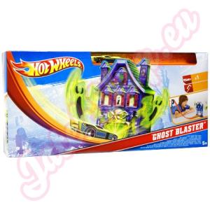 Mattel Hot Wheels: Ghost Blaster - Szellemírtó pálya szett -