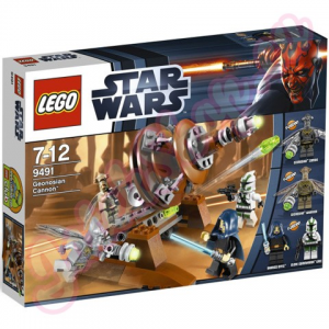 LEGO Star Wars - Geonosiai ágyú 9491