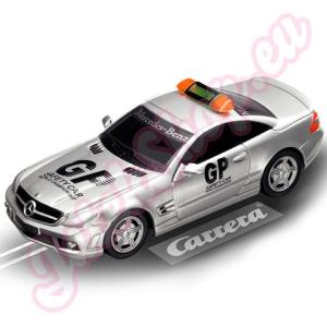 Carrera Go!: AMG-Mercedes SL 63 Safety Car 1/43-as pályaautó