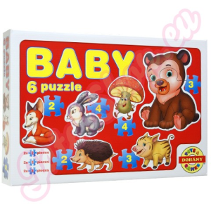 Baby Baby Puzzle erdei állatok