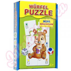 Mini Mini puzzle és kockajáték 8 nyelven
