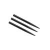 Darthegy STEEL Winmau gyűrűs fekete 3db/csomag