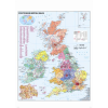 Stiefel Eurocart Kft. Ausztria irányítószámos térképe fóliás-fémléces