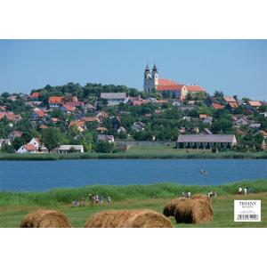 Stiefel Eurocart Kft. Tihany tányéralátét könyöklő hátoldalon Balaton térkép