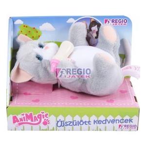 Animagic újszülött kedvencek (szürke cica)