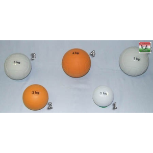 Plasto Súlylökő golyó, tornatermi - 1 kg PLASTO