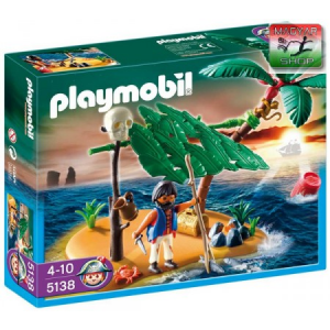 Playmobil 5138 - Lakatlan sziget és száműzött