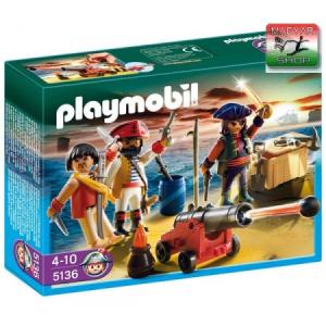 Playmobil Kalózcsapat fegyverekkel - 5136