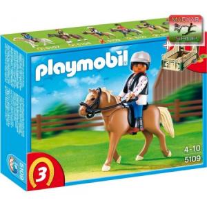 Playmobil 5109 - Haflinger ló és lovasa