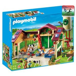 Playmobil 5119 - Modern farm silóval