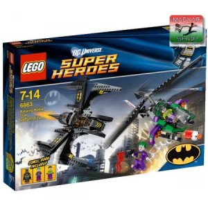 LEGO Super Heroes - Batwing Csata Gotham City felett - 6863