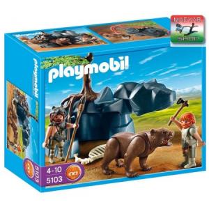 Playmobil 5103 - Ősember medvével