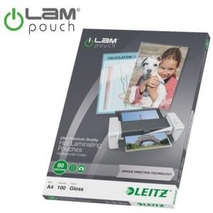 Leitz A4 80 mikronos meleglamináló-fólia UDT technológiával
