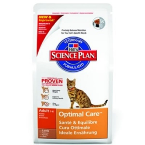 Hill´s Hills Science Plan Feline Adult Lamb 2 kg