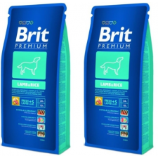Brit Premium Lamb & Rice 2*15 kg kutyaeledel