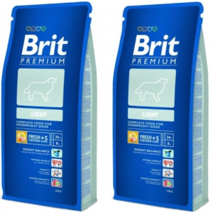 Brit Premium Light 2*15 kg