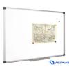 VICTORIA Mágneses, törölhető fehértábla, alumínium keret, 60 x 90 cm