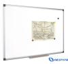 VICTORIA Mágneses, törölhető fehértábla, alumínium keret, 60 x 90 cm mágnestábla