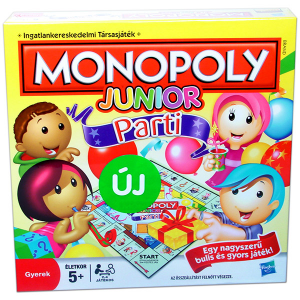 Hasbro Monopoly Junior party