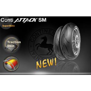 Continental 150/60R17 M/C 66H TL CONTINENTAL ContiAttack SM