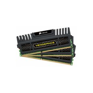 Corsair (CMZ16GX3M4X1600C9) 16GB Kit (4x4GB) DDR3, 1600MHz
