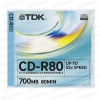 TDK CD-R 52x Slim Case (10)